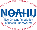 New Orleans Association of Health Underwriters NOAHU is the New Orleans chapter of the National Association of Health Underwriters and is an organization for insurance industry professionals.