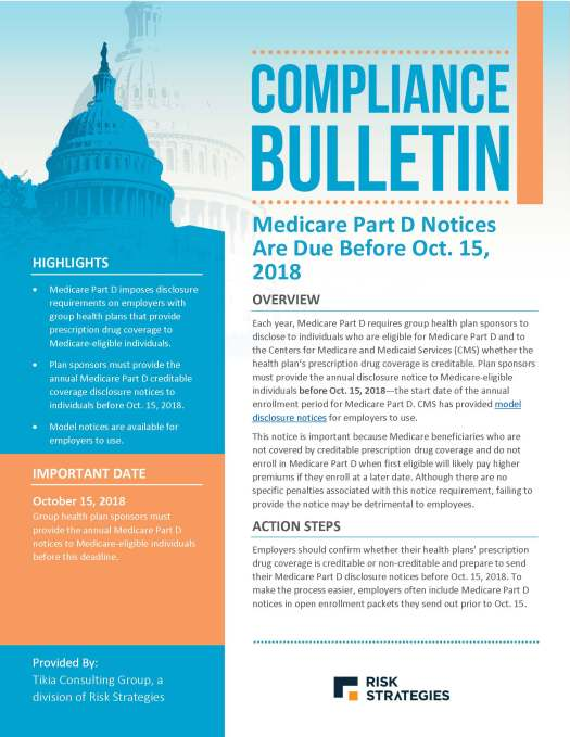 Medicare Part D Notices Are Due Before Oct 15 2018_Page_1